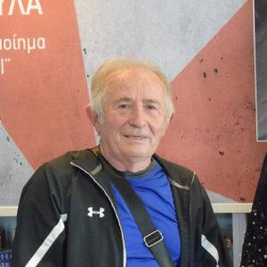 Ο επιχειρηματίας Νούλης Σιορμανωλάκης συνομιλεί με την ιστορικό Αναστασία Ταναμπάση