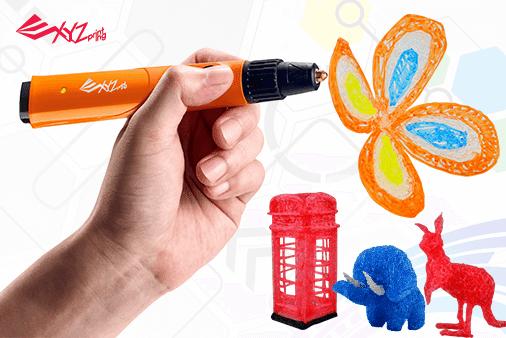 Δημιουργώ τρισδιάστατες κατασκευές με την Da Vinci 3D πένα