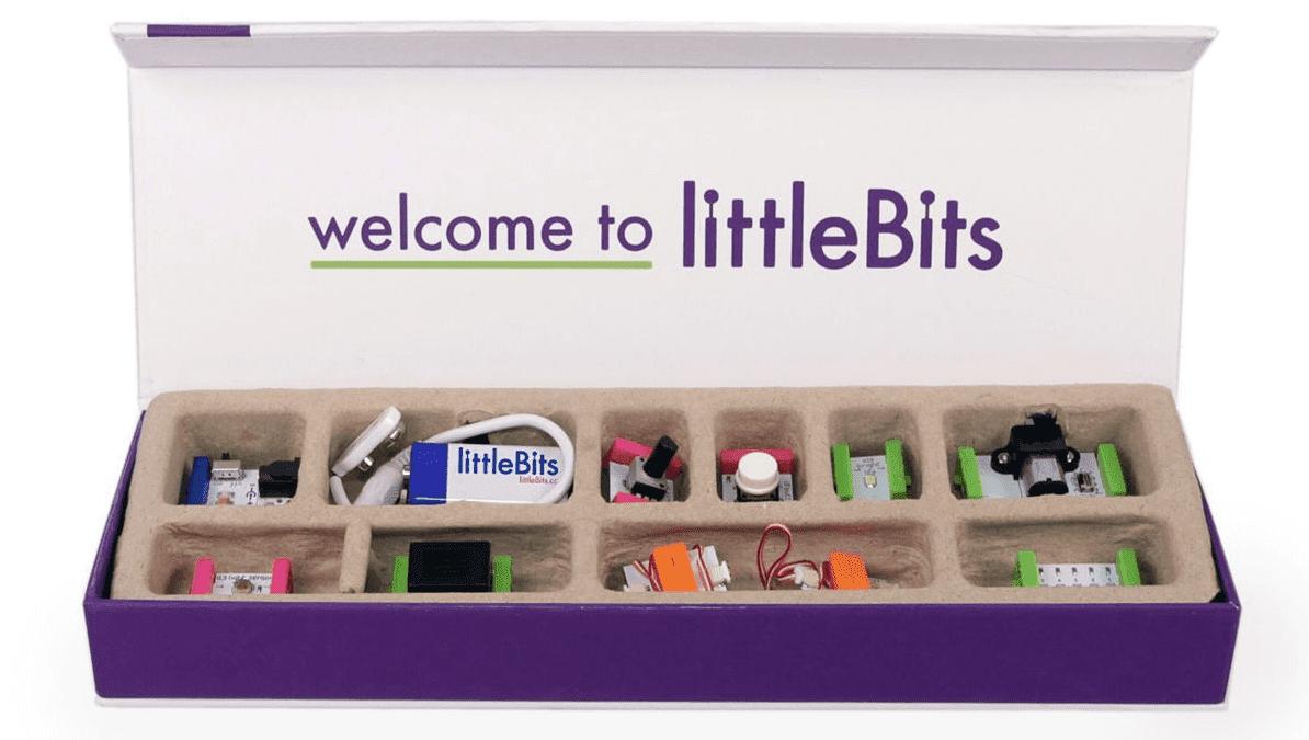 Γίνομαι ηλεκτρονικός με τη βοήθεια των littleBits